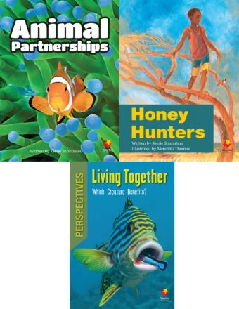 Animal Partnerships / Honey Hunters / Living Together: Which Creature Benefits?