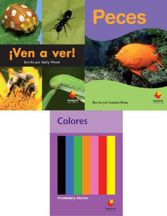 ¡Ven a ver! / Peces / Colores Vocabulary Starter