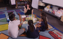 Extending Oral Language During a Shared Reading Lesson, Small Group Kindergarten