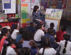Debra teaching shared reading pic